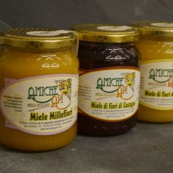 selection of honey from Sicily