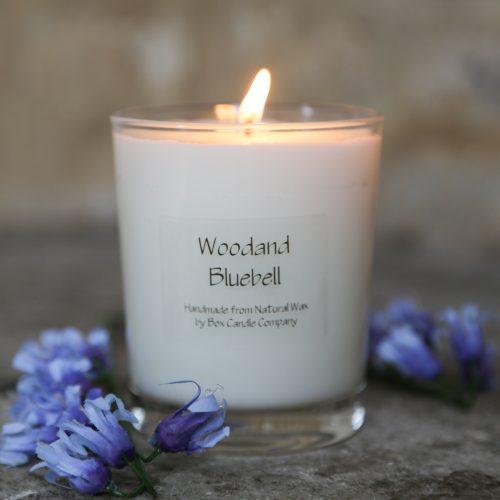 A springtme walk, woodland bluebells, florall yet woody