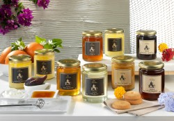 selection of honey from Calabria