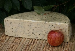 mixed herb and cider Somerset Cheese