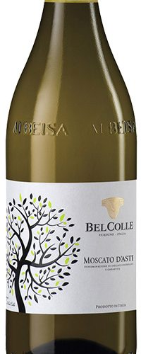 Moscato d'Asti BelColle, lightly sparkling sweet wine