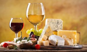 cheese counter and boutique wines