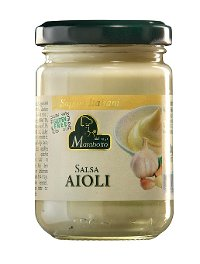 Italian garlic mayonnaise