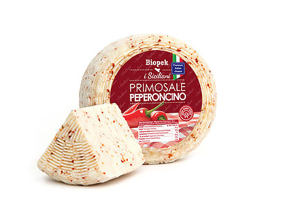 Sicilian pecorino with chilli pepper