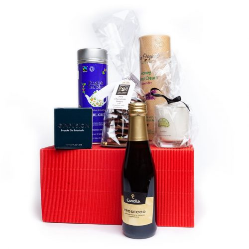 A selection of pampering products for the ladies