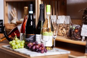 wines and products available at Gastro Nicks