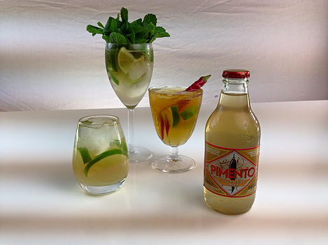 Non-alcoholic ginger beer