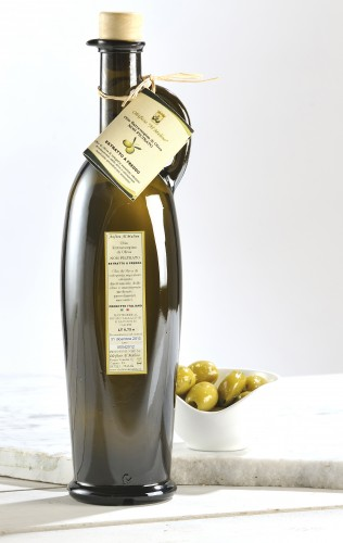 Sicilian olive oil re-fillable Amphora