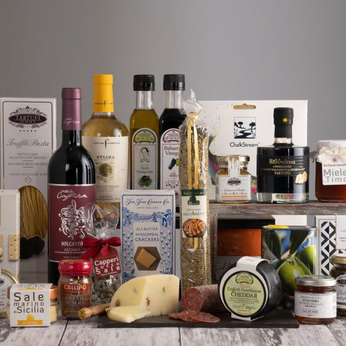 A wide selection of products to create your own bespoke hamper
