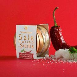 Natural chilli & parsley infused Sicilian sea salt