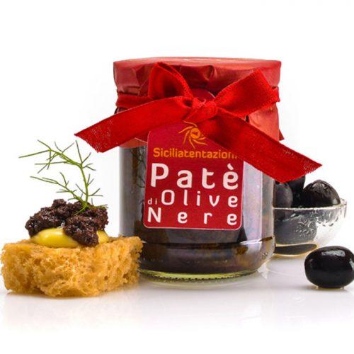 Sicilian black olive paté/pesto