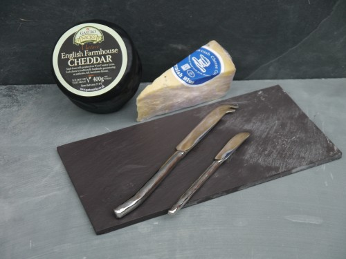 Slate and knives gift