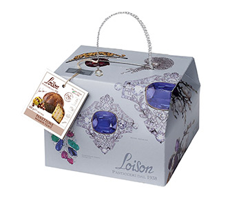 Traditionally made Marron Glace Panettone