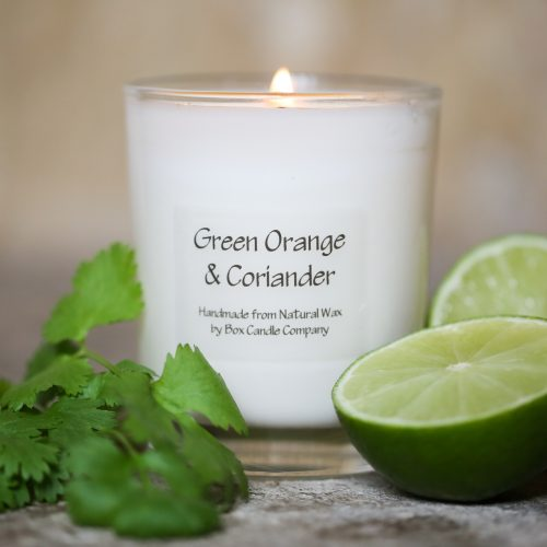 citrus orange & coriander with warming notes of ginger
