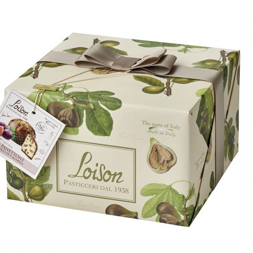Traditionally made Fig panettone