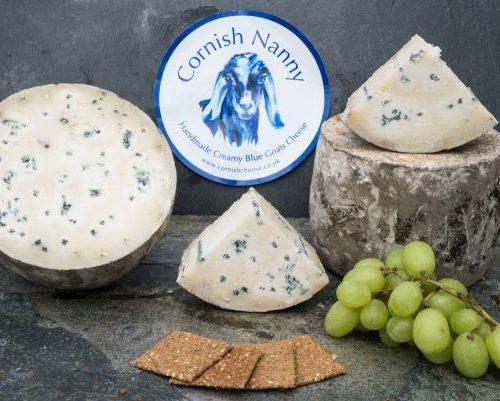 creamy blue goats cheese