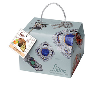 Traditionally made classic fruit panettone