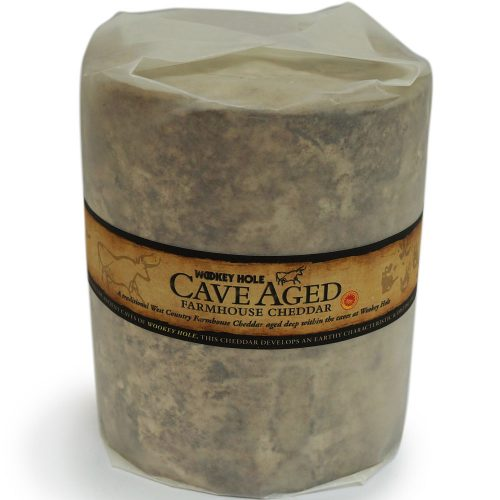 Wookey Hole cave aged cheddar truckle (boxed)