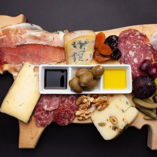 Gastro's selection for an anitpasti board