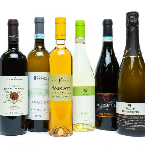 A selection of our favourite Italian wines