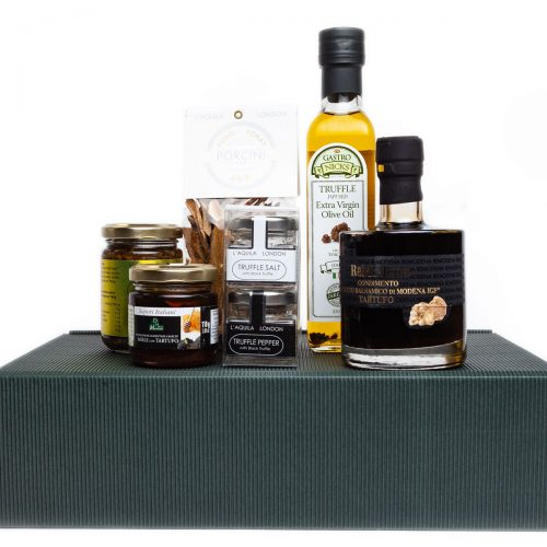 truffle lovers dream, truffle products in a gift hamper