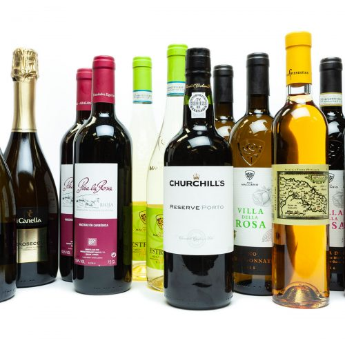 Gastro's wine selection for a larger dinner party