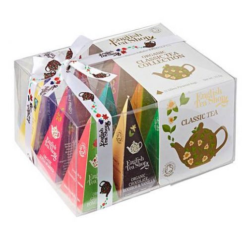 Organic Sri Lankan Silken Tea bag collection