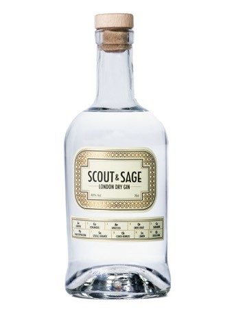 Scout & Sage London Dry Gin