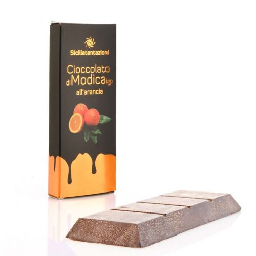 Sicilian Modica chocolate bars