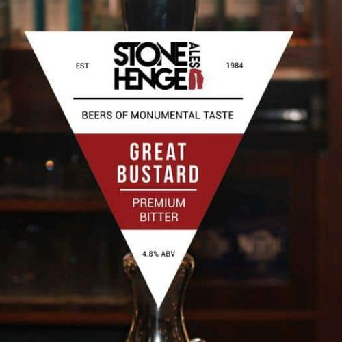 Stonehenge Great Bustard beer