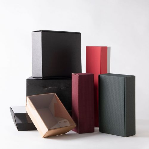 Card hamper boxes/trays