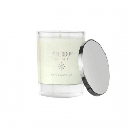 Mint & Lemongrass scented Candle